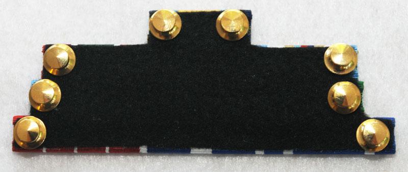 Back of multi-ribbon bar   Topline Undress Ribbon Bars