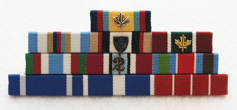 Mult-bar ribbon - front