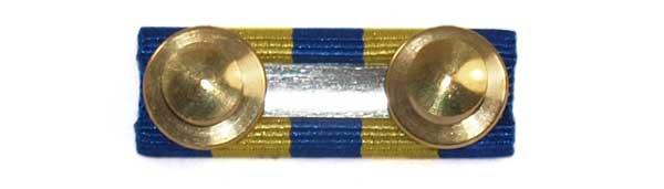 Back of the Police Exemplary ribbon   Topline Undress Ribbon Bars