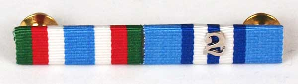 UN ribbon with numeral accoutrement   Topline Undress Ribbon Bars